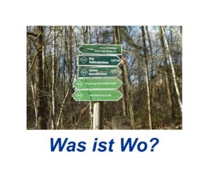 Was ist Wo?